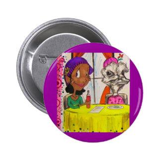 Ein weniges Brunch-Button Runder Button 5,1 Cm