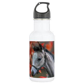 Ein weniges Fohlen Edelstahlflasche