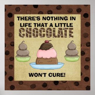 Ein weniges Schokoladen-Plakat Poster