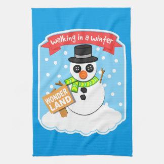 Ein Winter-Märchenland II Handtuch