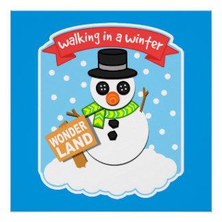 Ein Winter-Märchenland II Poster