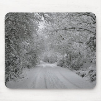 Ein Winter-Tag Mousemat Mousepad