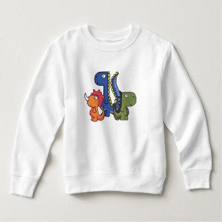 Ein wunderlicher Dinosaurierfreund, niedlich und Sweatshirt