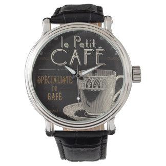 Ein zeitgenössischer Tasse Kaffee Armbanduhr