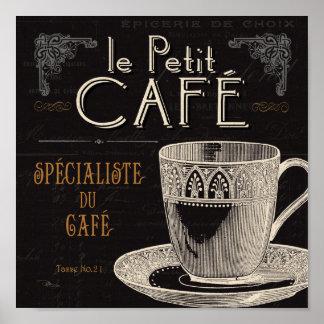 Ein zeitgenössischer Tasse Kaffee Poster