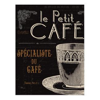 Ein zeitgenössischer Tasse Kaffee Postkarten