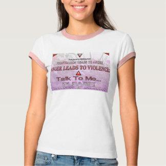 """Ein Zitat auf """"inländischer Gewalt""""… T-Shirt"""
