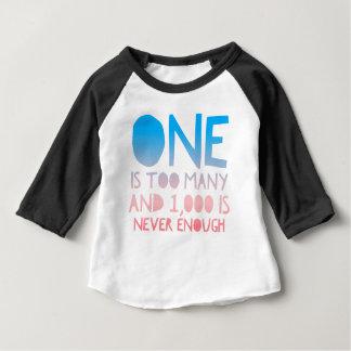 Ein zu vieles lustiges OM Baby T-shirt
