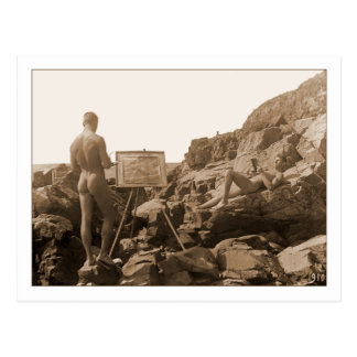 Einar Bager Schwede-Maler Postkarte