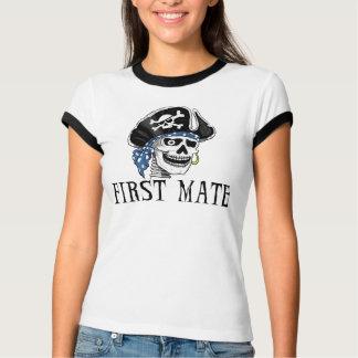 Einäugiger Piraten-erster Kamerad T-Shirt