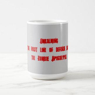 Einbalsamierung als Durchschnitte, Zombies zu Kaffeetasse