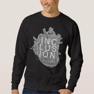 Einbeziehungs-Herz-Anatomie-Sweatshirt Sweatshirt