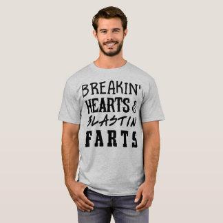 Einbruchherzen u. blastin Furzen T-Shirt