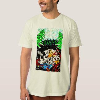 Eindringlinge Saki Farbabdeckungs-Kunst-T - Shirt