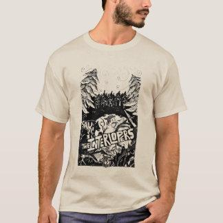 Eindringlinge Saki Geschichten-Abdeckung BW T-Shirt