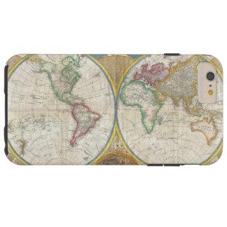 Eine allgemeine Karte der Welt durch Samuel Dunn 1 Tough iPhone 6 Plus Hülle