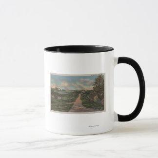 Eine alte Cape Cod-Weg-Ansicht Tasse