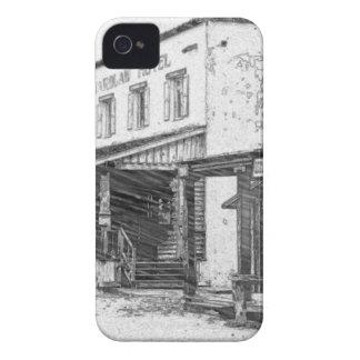 Eine alte Western-Stadt iPhone 4 Cover