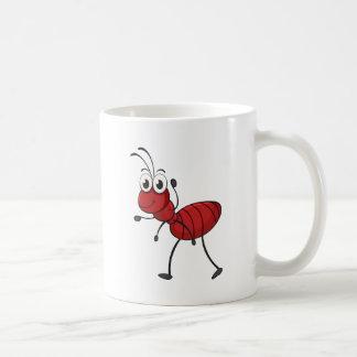 eine Ameise Kaffeetasse