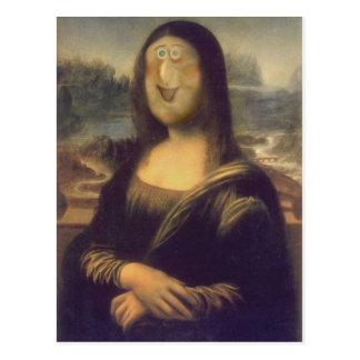 Eine andere Mona Lisa Postkarte