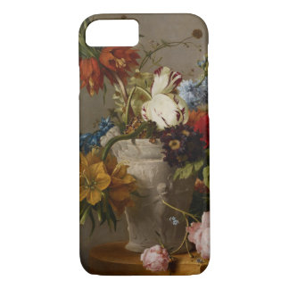 Eine Anordnung mit Blumen, 19. Jahrhundert iPhone 8/7 Hülle