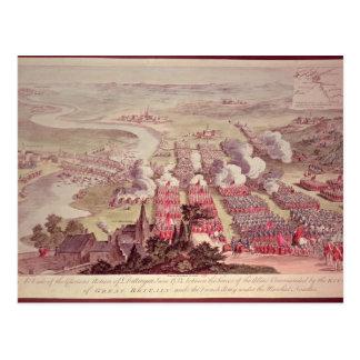 Eine Ansicht der prachtvollen Aktion von Dettingen Postkarte
