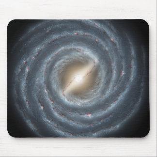 Eine Ansicht unserer eigenen Milchstraße-Galaxie Mousepad