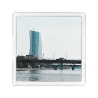 Eine Ansicht von Frankfurt Acryl Tablett