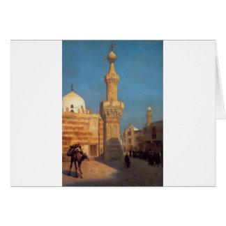 Eine Ansicht von Kairo durch Jean-Leon Gerome Karte
