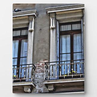 Eine Ansicht von Lido, Venezia Fotoplatte