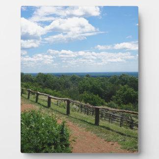 Eine Ansicht von Monticello Fotoplatte