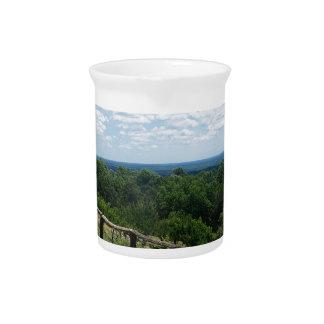 Eine Ansicht von Monticello Getränke Pitcher