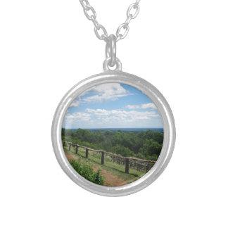 Eine Ansicht von Monticello Versilberte Kette