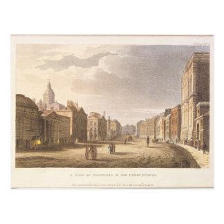 Eine Ansicht von Whitehall und von Pferdeschutz Postkarte