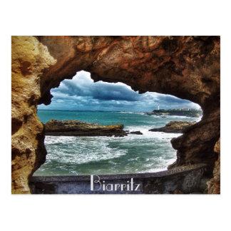 """""""Eine Ansicht, zum sich - an von Biarritz zu Postkarte"""