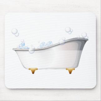 Eine Badewanne Mauspads