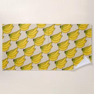 Eine Bananen-Feier Strandtuch