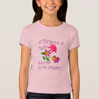 Eine Blume ein Tag T-Shirt