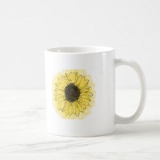 """""""Eine Blume ist im Schlamm"""" inspirational Kaffeetasse"""