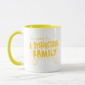 eine dysfunktionelle Familie Tasse