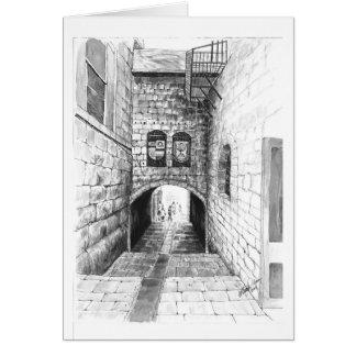 Eine Ecke von Jerusalem Karte
