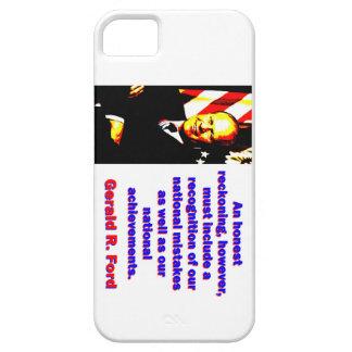Eine ehrliche Berechnung - Gerald Ford Barely There iPhone 5 Hülle