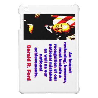 Eine ehrliche Berechnung - Gerald Ford iPad Mini Hülle