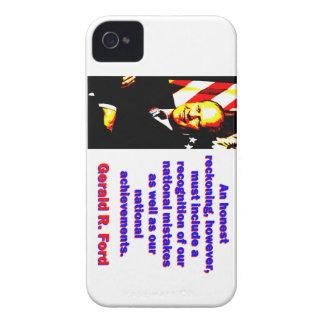 Eine ehrliche Berechnung - Gerald Ford iPhone 4 Hüllen