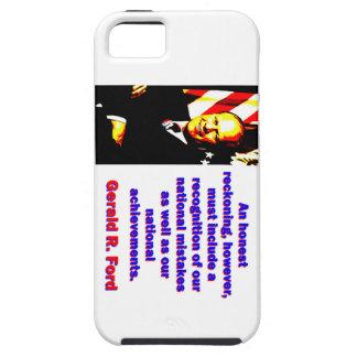 Eine ehrliche Berechnung - Gerald Ford iPhone 5 Etui