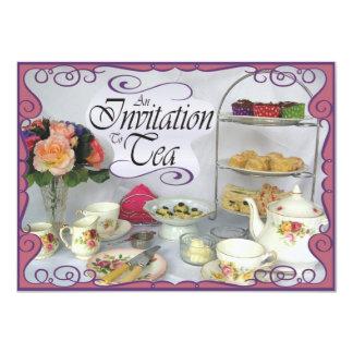 Eine Einladung zum Tee