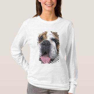 Eine englische Bulldogge in Belgien T-Shirt