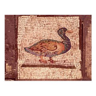Eine Ente, Detail von Orpheus, der die Tiere Postkarte