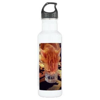 Eine Erinnerung, zum hydratisiert zu bleiben!  Edelstahlflasche