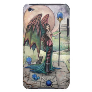 Eine Ernte-Mond-gotische Fantasie-Fee-Kunst Barely There iPod Case